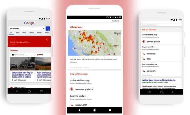 Googles New SOS Alerts Will Provide Critical Info During Emergencies