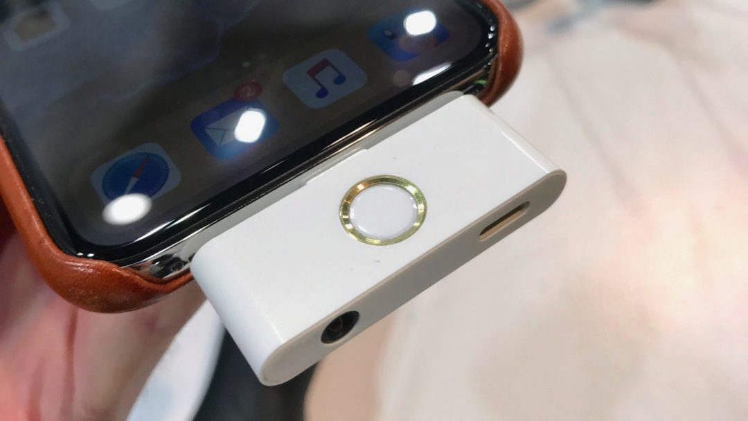 'The Home Button' Is CES' Most Bizarre iPhone X Accessory the-home-button-is-ces-most-bizarre-iphone-x-accessory