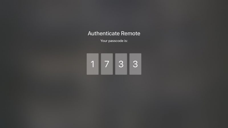 how to connect remote to apple tv