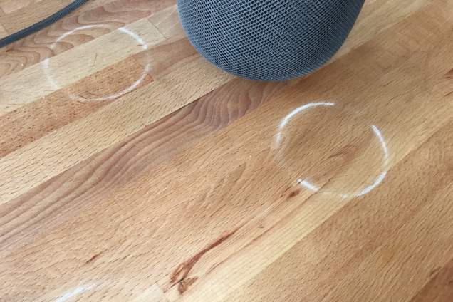 Apple Confirms HomePod Can Leave White Rings on Wood Surfaces With Oil or Wax Finishes apple-confirms-homepod-can-leave-white-rings-on-wood-surfaces-with-oil-or-wax-finishes