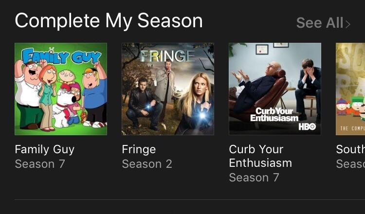 Can we remove Complete My Season? I'm not ever going to download the rest. Just tired of seeing it on my iTunes Store app. Thx can-we-remove-complete-my-season-im-not-ever-going-to-download-the-rest-just-tired-of-seeing-it-on-my-itunes-store-app-thx