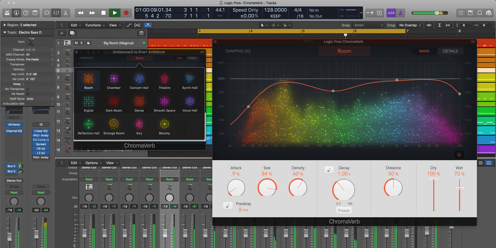 Logic Pros: Hands-on w/ Apple's new Logic Pro X reverb ...