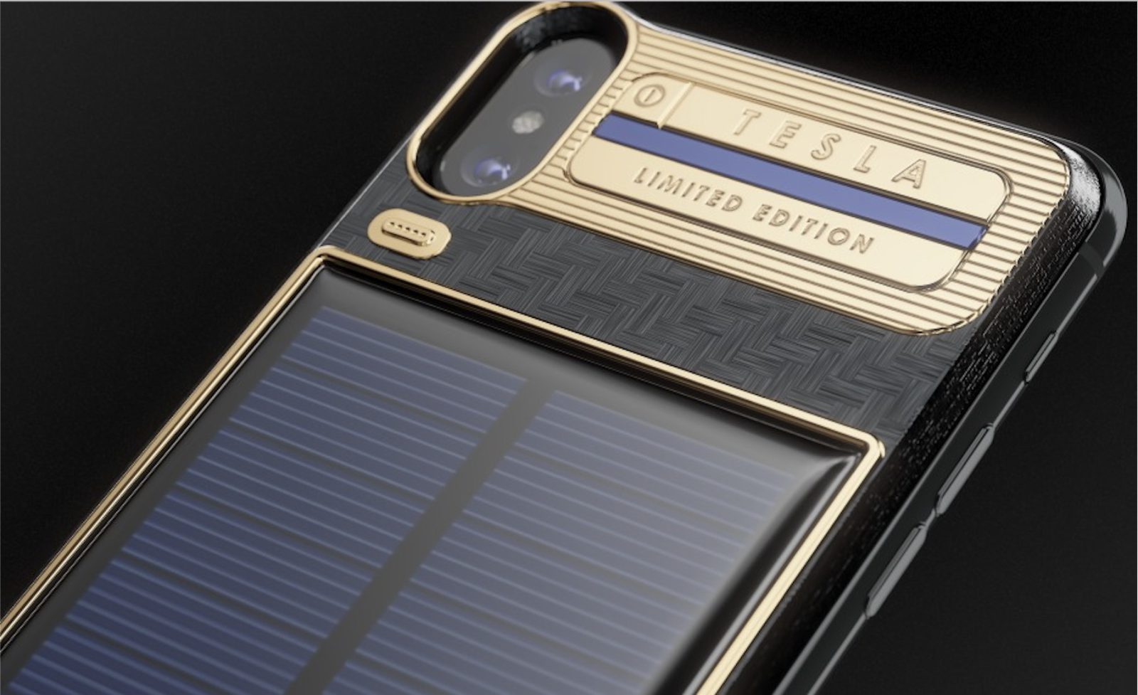 iPhone X luxury battery case with integrated solar panel hits market, but costs 4x phone price iphone-x-luxury-battery-case-with-integrated-solar-panel-hits-market-but-costs-4x-phone-price