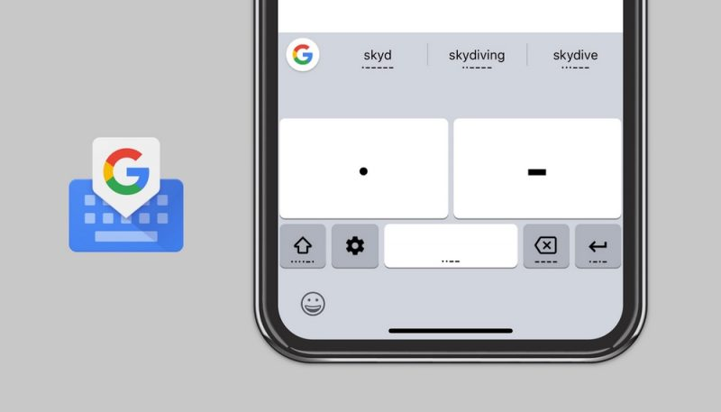 Google Adds Morse Code Accessibility Feature to Gboard on iOS google-adds-morse-code-accessibility-feature-to-gboard-on-ios