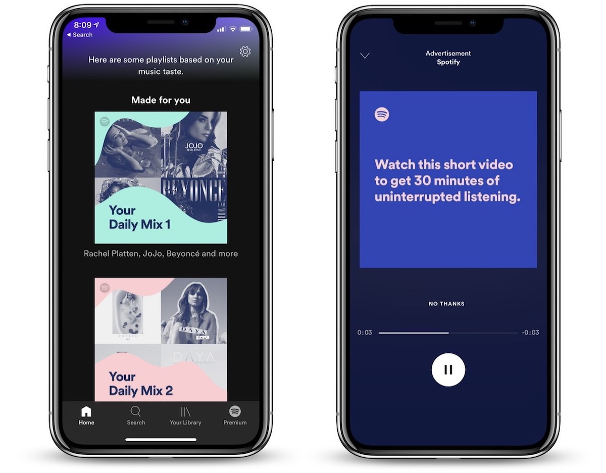 Spotify Testing Way for Free Tier Users to Skip Ads 'Any Time They Want' spotify-testing-way-for-free-tier-users-to-skip-ads-any-time-they-want