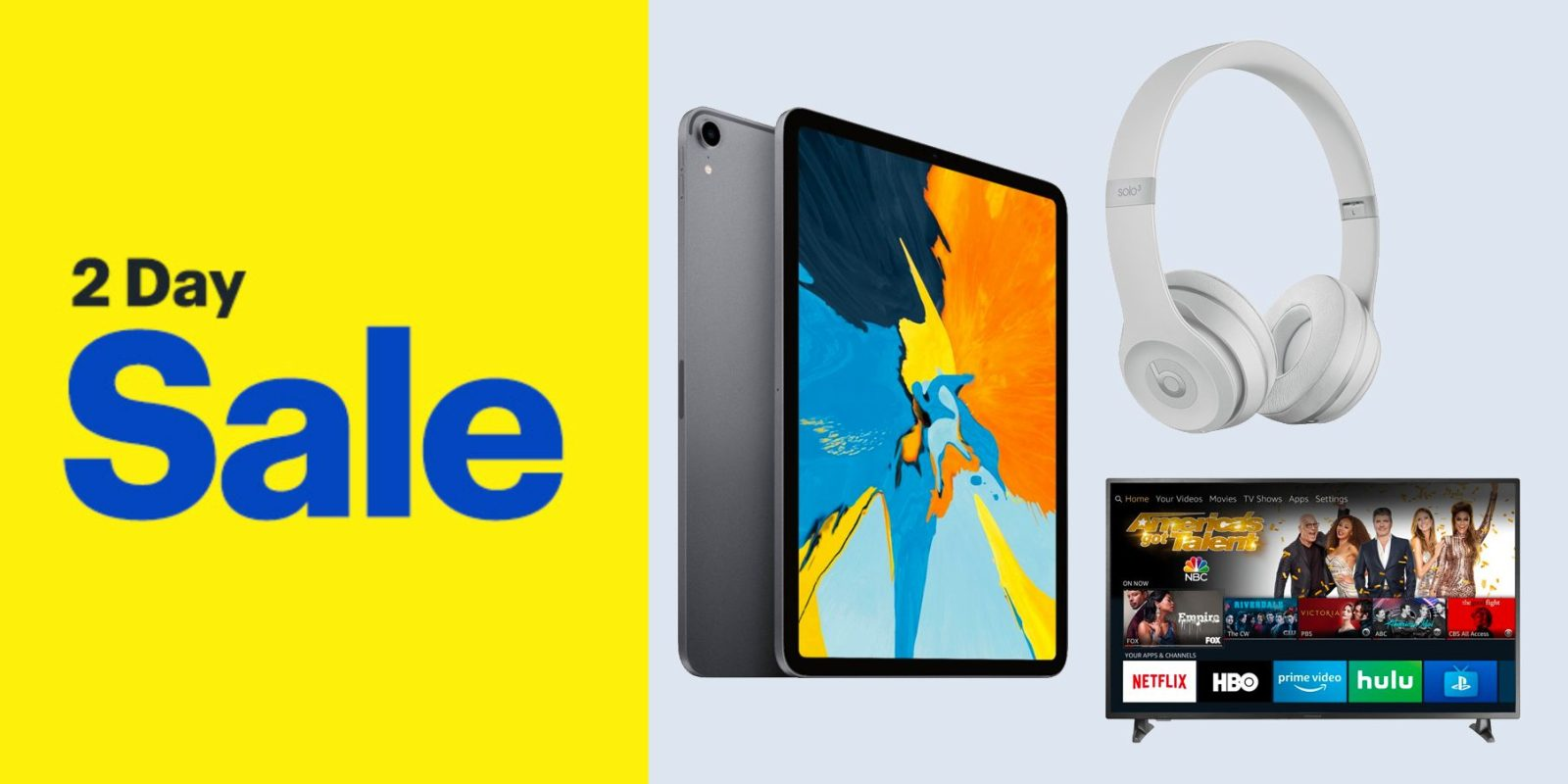 Best Buy's new 2-day sale takes $150 off the latest iPad Pro, deals on Beats, TVs, more best-buys-new-2-day-sale-takes-150-off-the-latest-ipad-pro-deals-on-beats-tvs-more