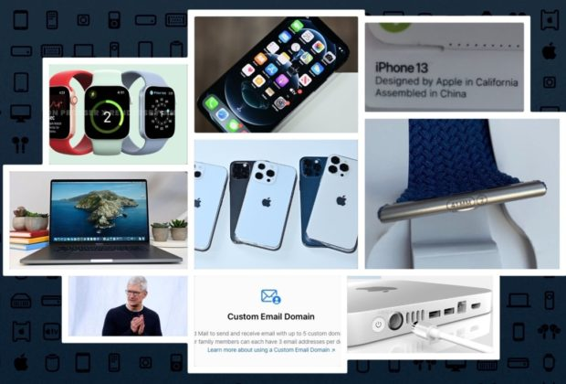 'iPhone 13' event date, 45mm 'Apple Watch Series 7,' 'M1X ...